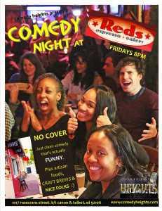 REDS comedy crowd ALT